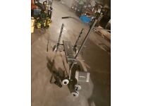 Maximuscle Weight Bench with Lat Pulldown, Preacher Pad, Pec Dec Arms and Leg Developer