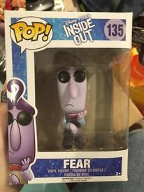 Pop vinyl fear