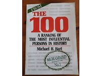 *free* booklet The 100 - A ranking of the most influential persons in history by Michael Hart