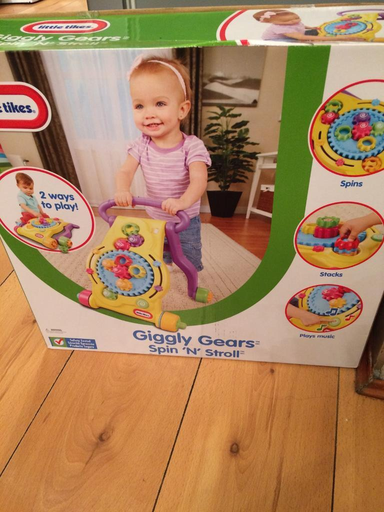 Giggly gear baby toy brand new