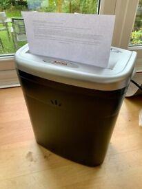 Aurora AS610C Shredder with Waste Bin, Black/Silver | Good Working Condition