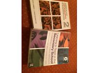Textbooks on teaching geography