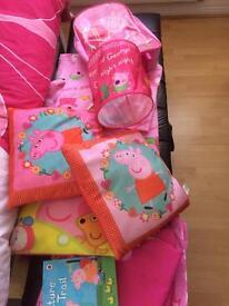 Peppa pig bedroom bundle