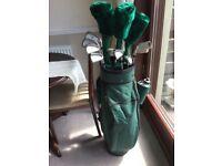 brand new men's golf clubs including bag