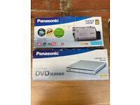 Panasonic Video Recorder and DVD Burner and bag