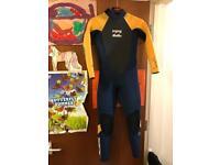 Junior/Children's Billabong Wetsuit 4/3