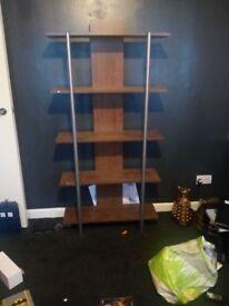 Display shelving unit