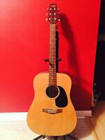 Tradition Acoustic Guitar with soft Guitar Case