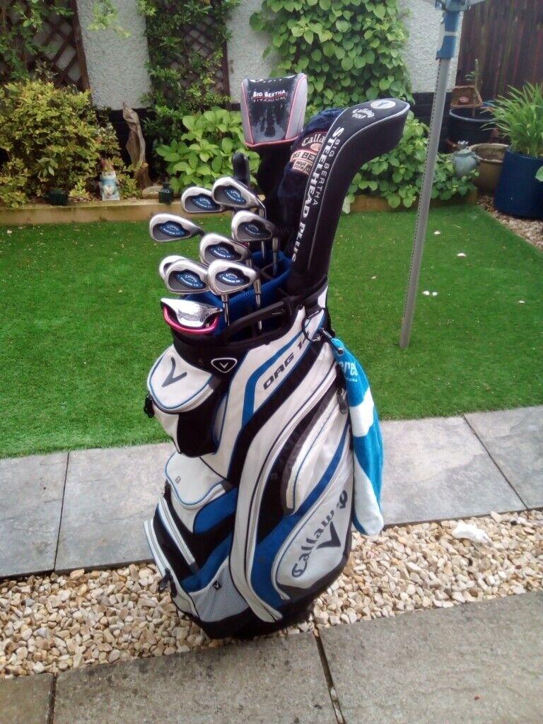 Full Set Quality Golf Clubs Calaway Bertha Stunning Callaway Org14 Bag Free Extras In East Kilbride Glasgow Gumtree