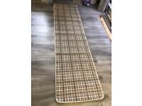 Tartan carpet runners
