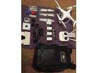DJI Phantom 3 Advanced 2.7k Drone with loads of extras