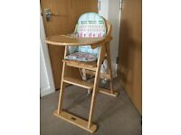 Almost brand new East Coast High Chair