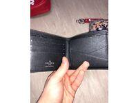 Supreme lv wallet black