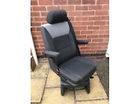 Vw T5 T6 Transporter Caravelle CALIFORNIA Rear Swivel Captain Seat in MILAN Trim