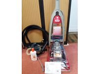 VAX RAPIDE XL CARPET WASHER WITH PRE TREATMENT WAND & CLEANING SOLUTION - USED ONLY TWICE PREVIOUSLY
