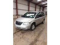 2007 Chrysler Grand Voyager, great family car. £3000 ono