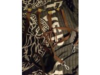 4 leather dog leads