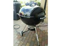 "Weber 67cm BBQ Kettle Barbecue 26.75"" Charcoal Rrp £400 webber not 57cm"