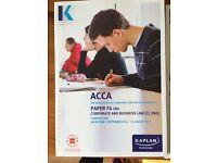 F4 ACCA Kaplan books-complete set