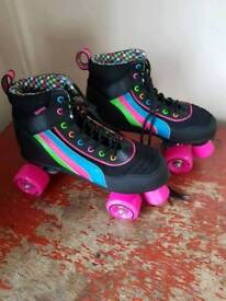 Roller boots. Ladies size 6.