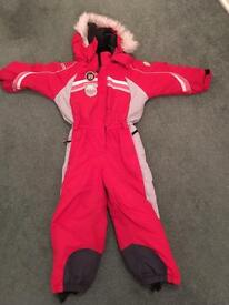 Icepeak ski suit would suit a 4- 6 year