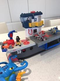 Imaginext by fisher price aircraft carrier