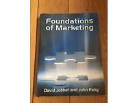Foundations of Marketing Book. Jobber & Fahy.