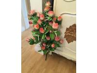 Artificial large flower bunch roses