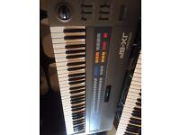 Roland JX8P - Vintage analogue polyphonic synthesizer.