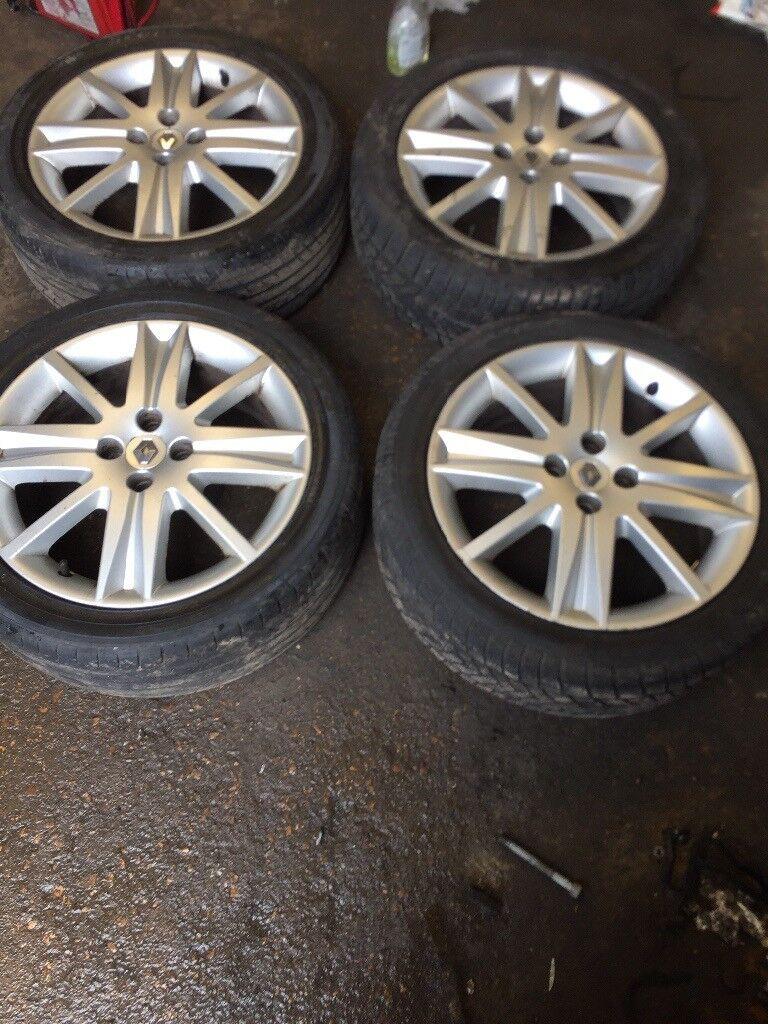 Renault Laguna 4 stud alloy wheels | in Romsey, Hampshire | Gumtree