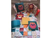Mamas and Papas Patternology nursery set