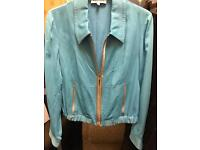 LADIES SIZE 10 JACKETS - TWO BRAND NEW -luxurious fabrics