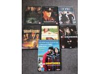 7 Assorted DVDs