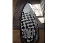 SURFTECH SURFBOARD DOC LAUSCH NEW TOY 5'8' x 20' 1/8' x 2' 5/8'
