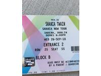 Shania Twain Dublin