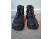 Boys Black Boots Size 13