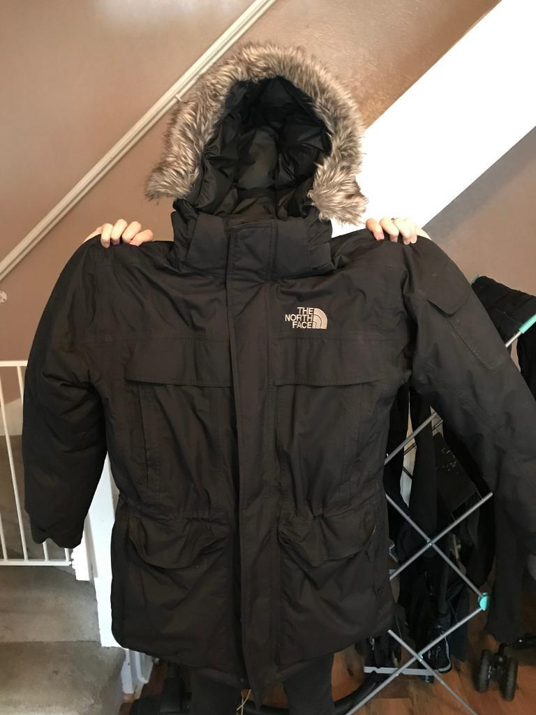 Men's North face McMurdo parka jacket (Large)