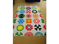 LARGE - IKEA Contemporary RUG approx 196cm x 133cm = ( 77ins x 52ins)