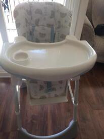 Baby high chair for sale £20