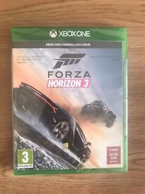 Forza horizon 3 , Xbox one , brand new & sealed ! Price stands , no offers !