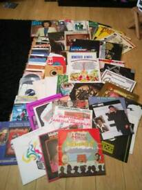 Vinyl lps and singles