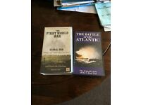 2 off military theme video tapes