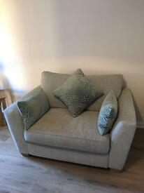 DFS Sophia collection 2 seater cuddle chair