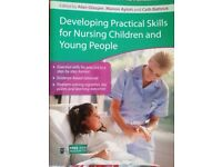 """Developing Practical Skills for Nursing Children and Young People"" - Medical Nursing Book"