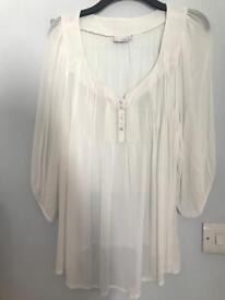 White next blouse