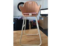 Baby annabell high chair
