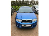 Skoda Fabia 1.9 TDI VRS Special Edition 5dr with full service history.