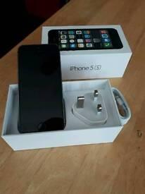 Iphone 5s 16gb black & silver