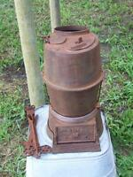 ANTIQUE CABOOSE STOVE