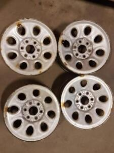 4 RIMS DE PICK UP GM / CHEVROLET 17 6 X 5,5 / 160$